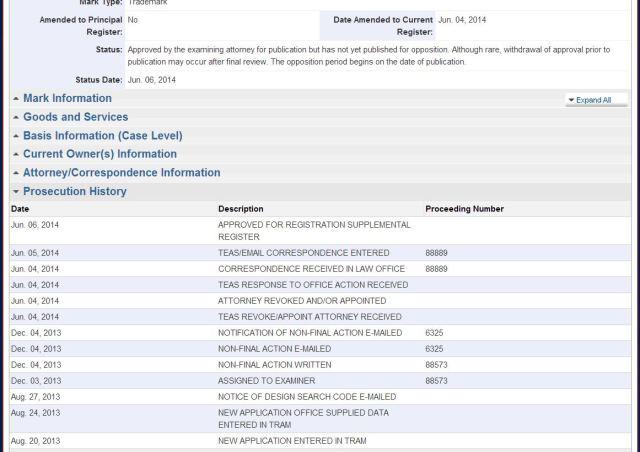 USPTO-presecutionhistory-06-12-14