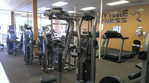 some of the many machines offered at Anytime Fitness in Titusville, FL
