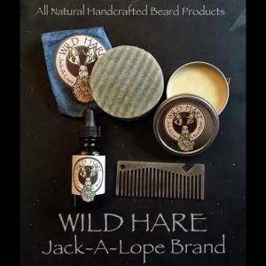 Wild Hare Products that I received, minus the comb.