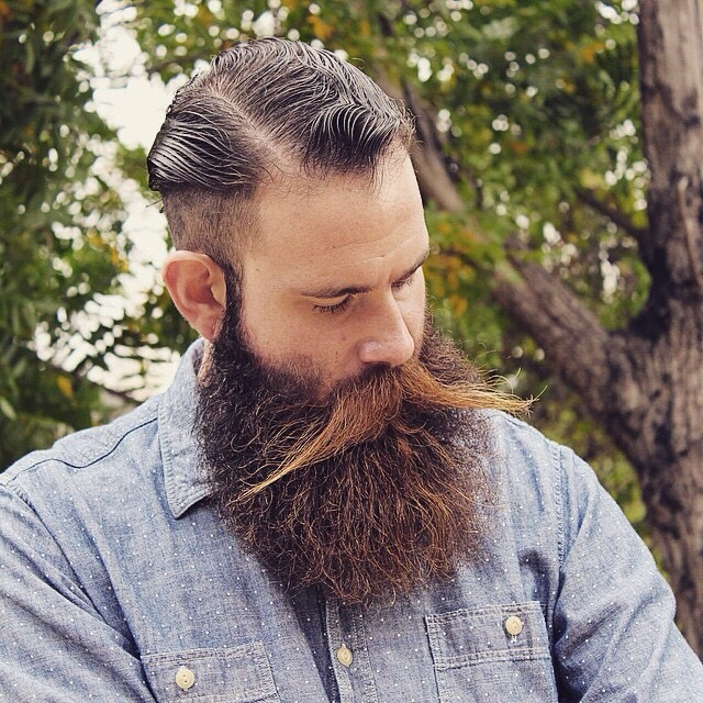Stylin' Mustache Beard