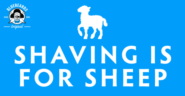 Shaving Is For Sheep