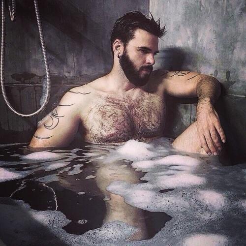 Bath time Beard