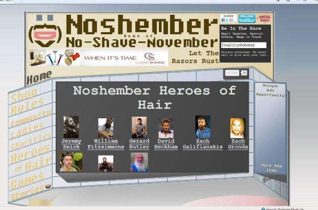Noshember.com