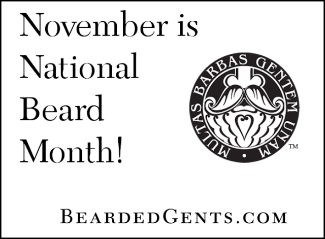 November Natl Beard Month