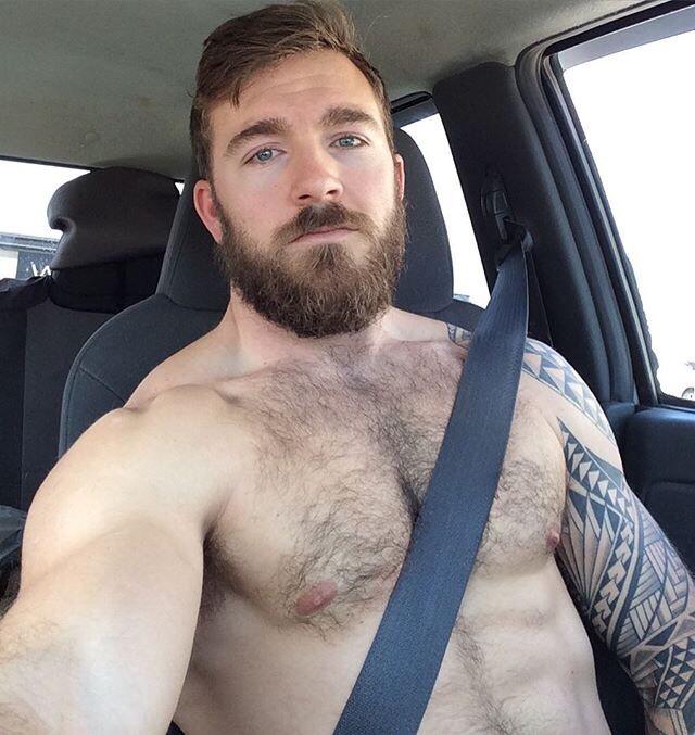 Driving Muscle Beard