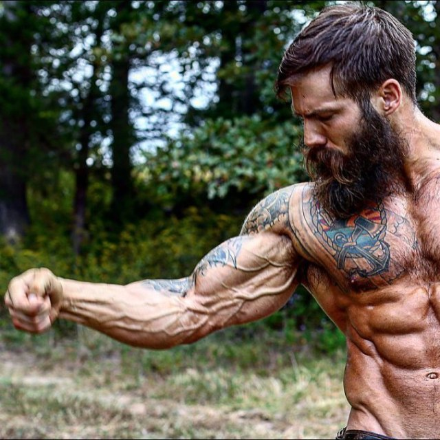 Lean Muscle Beard
